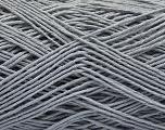 Fiber Content 100% Cotton, Light Grey, Brand ICE, Yarn Thickness 1 SuperFine  Sock, Fingering, Baby, fnt2-57181