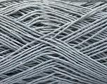 Fiber Content 100% Cotton, Light Grey, Brand ICE, Yarn Thickness 1 SuperFine  Sock, Fingering, Baby, fnt2-57182