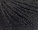 Fiber Content 70% Acrylic, 30% Wool, Brand ICE, Black, Yarn Thickness 4 Medium  Worsted, Afghan, Aran, fnt2-57206