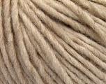 Fiber Content 50% Merino Wool, 25% Alpaca, 25% Acrylic, Brand ICE, Cream melange, Yarn Thickness 4 Medium  Worsted, Afghan, Aran, fnt2-57215