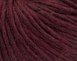Fiber Content 50% Merino Wool, 25% Alpaca, 25% Acrylic, Maroon, Brand ICE, Yarn Thickness 4 Medium  Worsted, Afghan, Aran, fnt2-57220