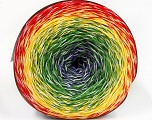 Fiber Content 50% Cotton, 50% Acrylic, Yellow, White, Red, Purple, Brand ICE, Green, fnt2-57330