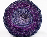 Fiber Content 75% Superwash Wool, 25% Polyamide, Purple, Lilac Shades, Brand ICE, fnt2-57340