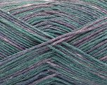 Fasergehalt 100% Acryl, Lilac Shades, Brand ICE, Green Shades, fnt2-57347
