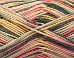 Fiber Content 100% Acrylic, Yellow, Pink, Brand ICE, Grey, fnt2-57351
