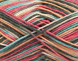Fiber Content 100% Acrylic, Yellow, Salmon, Pink, Mint Green, Brand ICE, Grey, fnt2-57352
