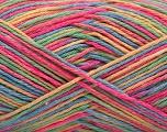 Fasergehalt 100% Acryl, Yellow, Pink, Brand ICE, Green, Blue, fnt2-57353