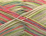 Fasergehalt 100% Acryl, Pink, Brand ICE, Green, Cream, Blue, fnt2-57357