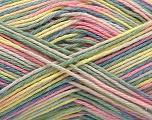Fasergehalt 100% Acryl, Yellow, Pink, Light Green, Brand ICE, Cream, Blue, fnt2-57358