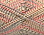 Fasergehalt 100% Acryl, Light Pink, Light Grey, Brand ICE, Cream, fnt2-57361