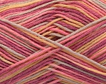 Fiber Content 100% Acrylic, Yellow, Pink, Orchid, Light Grey, Brand ICE, fnt2-57363