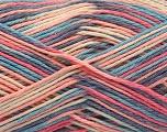 Fasergehalt 100% Acryl, Pink, Lavender, Brand ICE, Cream, Blue, fnt2-57365