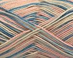 Fasergehalt 100% Acryl, Light Pink, Brand ICE, Cream, Blue Shades, fnt2-57366