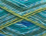 Fiber Content 100% Acrylic, Brand ICE, Green Shades, Blue Shades, fnt2-57386