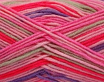 Fiber Content 100% Acrylic, Pink Shades, Lilac, Brand ICE, Beige, fnt2-57387
