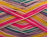 Fiber Content 100% Acrylic, Yellow, Pink, Lilac, Brand ICE, Green, fnt2-57388