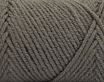 Items made with this yarn are machine washable & dryable. Fiber Content 100% Acrylic, Brand ICE, Dark Grey, fnt2-57402