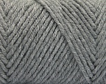 Items made with this yarn are machine washable & dryable. Fiber Content 100% Acrylic, Brand ICE, Grey, fnt2-57403