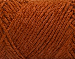 Items made with this yarn are machine washable & dryable. Fiber Content 100% Acrylic, Brand ICE, Copper, fnt2-57407