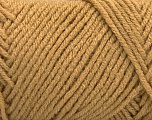 Items made with this yarn are machine washable & dryable. Fiber Content 100% Acrylic, Light Brown, Brand ICE, fnt2-57410