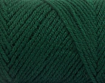 Items made with this yarn are machine washable & dryable. Fiber Content 100% Acrylic, Brand ICE, Dark Green, fnt2-57414