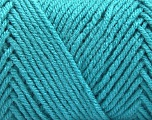 Items made with this yarn are machine washable & dryable. Fiber Content 100% Acrylic, Turquoise, Brand ICE, fnt2-57420