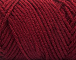 Items made with this yarn are machine washable & dryable. Fiber Content 100% Acrylic, Brand ICE, Dark Burgundy, fnt2-57424
