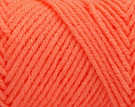 Items made with this yarn are machine washable & dryable. Fiber Content 100% Acrylic, Light Orange, Brand ICE, fnt2-57427