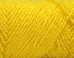 Items made with this yarn are machine washable & dryable. Fiber Content 100% Acrylic, Yellow, Brand ICE, fnt2-57429