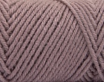 Items made with this yarn are machine washable & dryable. Fiber indhold 100% Akryl, Light Maroon, Brand ICE, fnt2-57439