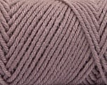 Items made with this yarn are machine washable & dryable. Fiberinnhold 100% Akryl, Light Maroon, Brand ICE, fnt2-57439