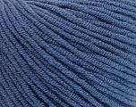 Fiber Content 50% Cotton, 50% Acrylic, Brand ICE, Blue, fnt2-57441