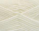Bulky  Fiber Content 100% Acrylic, White, Brand ICE, fnt2-57442