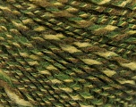 Fiber Content 50% Acrylic, 50% Wool, Brand ICE, Green Shades, fnt2-57447
