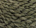 Fiber Content 50% Acrylic, 50% Wool, Khaki, Brand ICE, fnt2-57464