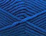 Fiber Content 50% Acrylic, 50% Merino Wool, Brand KUKA, Blue, Yarn Thickness 5 Bulky  Chunky, Craft, Rug, fnt2-16727