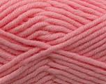 Fiber Content 50% Merino Wool, 50% Acrylic, Brand KUKA, Baby Pink, Yarn Thickness 5 Bulky  Chunky, Craft, Rug, fnt2-16732