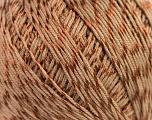 Fiber Content 70% Mercerised Cotton, 30% Viscose, Brand Kuka Yarns, Brown, Yarn Thickness 2 Fine  Sport, Baby, fnt2-16801