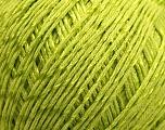 Fiber Content 70% Mercerised Cotton, 30% Viscose, Brand Kuka Yarns, Green, Yarn Thickness 2 Fine  Sport, Baby, fnt2-16807