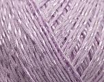 Fiber Content 70% Mercerised Cotton, 30% Viscose, Lilac, Brand Kuka Yarns, Yarn Thickness 2 Fine  Sport, Baby, fnt2-16810