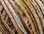 Fiber Content 70% Mercerised Cotton, 30% Viscose, White, Brand Kuka Yarns, Camel, Brown, Yarn Thickness 2 Fine  Sport, Baby, fnt2-16812