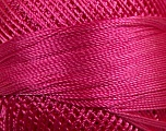 Fiber Content 100% Micro Fiber, Brand YarnArt, Fuchsia, Yarn Thickness 0 Lace  Fingering Crochet Thread, fnt2-17318