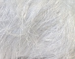 Fiber Content 100% Polyester, White, Brand Kuka Yarns, Yarn Thickness 5 Bulky  Chunky, Craft, Rug, fnt2-20780