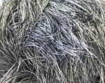Fiber Content 100% Polyester, White, Brand Kuka Yarns, Black, Yarn Thickness 5 Bulky  Chunky, Craft, Rug, fnt2-20786