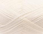 Fiber Content 60% Merino Wool, 40% Acrylic, White, Brand Ice Yarns, Yarn Thickness 2 Fine  Sport, Baby, fnt2-21089