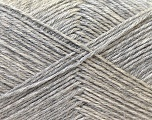 Fiber Content 60% Merino Wool, 40% Acrylic, Silver, Brand Ice Yarns, Yarn Thickness 2 Fine  Sport, Baby, fnt2-21095