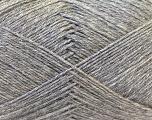 Fiber Content 60% Merino Wool, 40% Acrylic, Brand Ice Yarns, Grey, Yarn Thickness 2 Fine  Sport, Baby, fnt2-21096