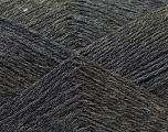 Fiber Content 60% Merino Wool, 40% Acrylic, Brand Ice Yarns, Dark Grey, Yarn Thickness 2 Fine  Sport, Baby, fnt2-21097