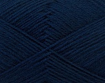 Fiber Content 60% Merino Wool, 40% Acrylic, Navy, Brand ICE, Yarn Thickness 2 Fine  Sport, Baby, fnt2-21102