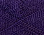 Fiber Content 60% Merino Wool, 40% Acrylic, Purple, Brand Ice Yarns, Yarn Thickness 2 Fine  Sport, Baby, fnt2-21107